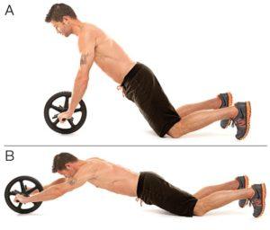 ejercicios abdominales masculinos