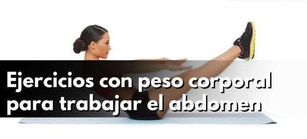 ejercicios abdominales con peso