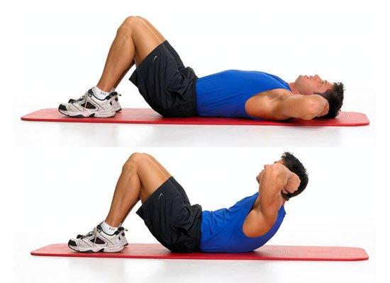 que ejercicios de abdominales hacer