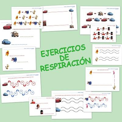 ejercicios sobre los tipos de respiracion
