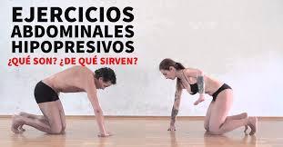 ejercicios hipopresivos abdominales