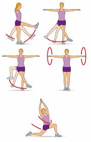 ejercicios de calentamiento de gimnasia