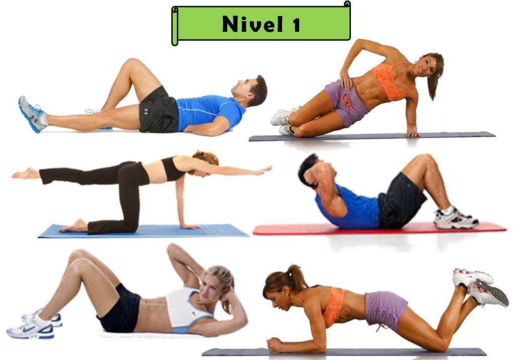 ejercicios de core beneficios