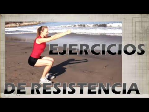 ejercicios de resistencia muscular