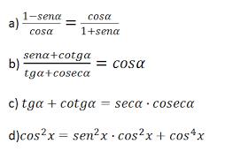 ejercicios de trigonometria basica