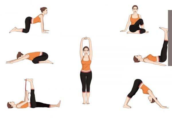 ejercicios de yoga de relajacion
