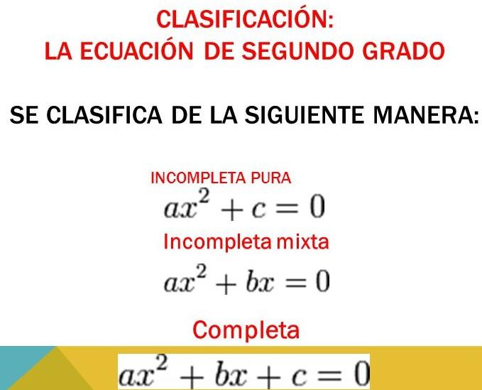 ejercicios de ecuaciones de segundo grado
