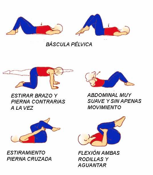 ejercicios lumbares beneficios