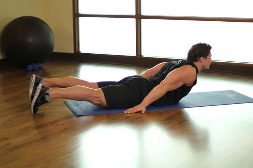 ejercicios lumbares basicos