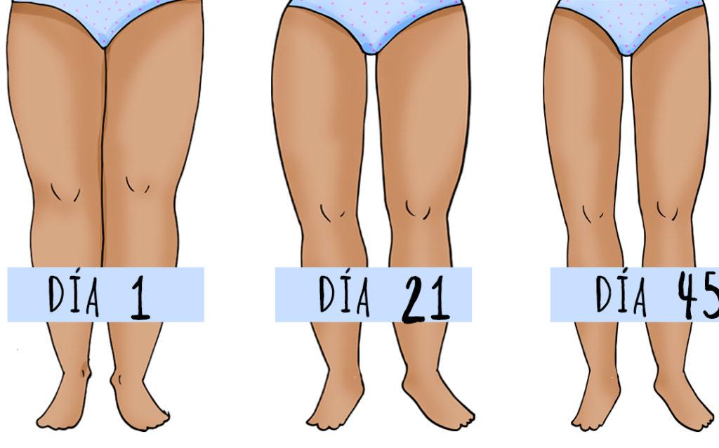 ejercicios para adelgazar caderas y piernas