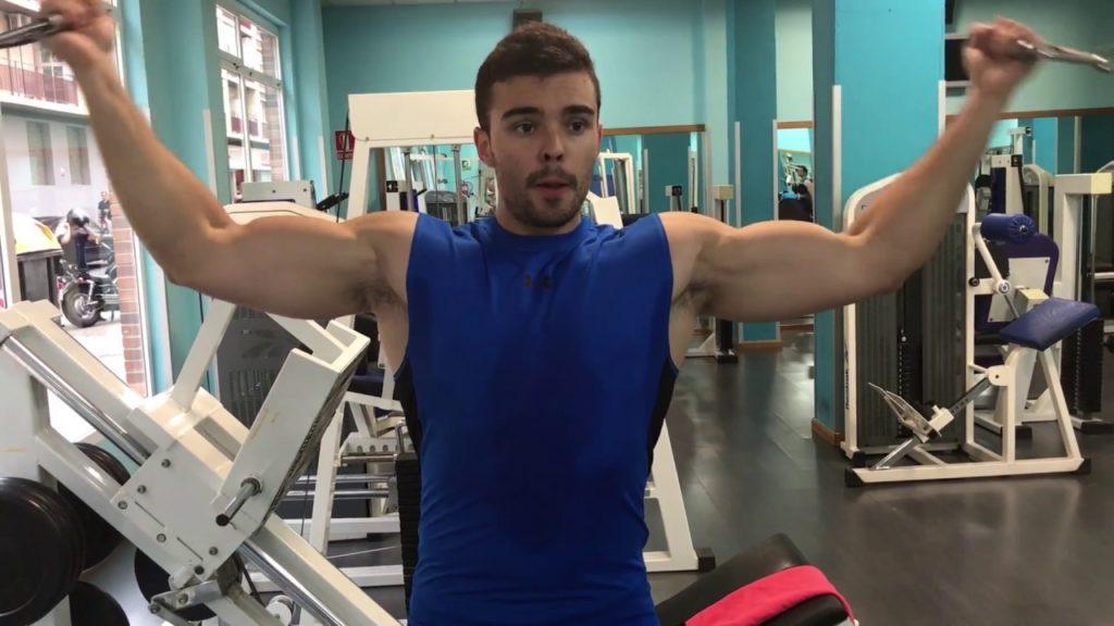 ejercicios para alargar biceps