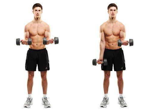 ejercicios para brazos anchos