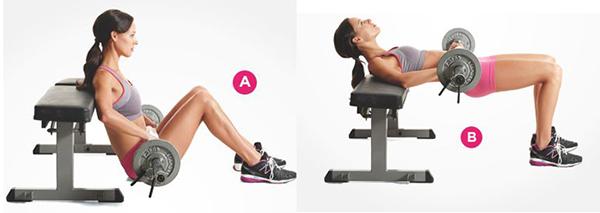 ejercicios para gluteos en el gym mujeres