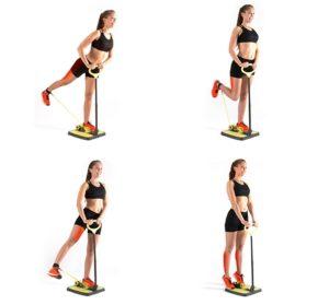 ejercicios para gluteos de pie
