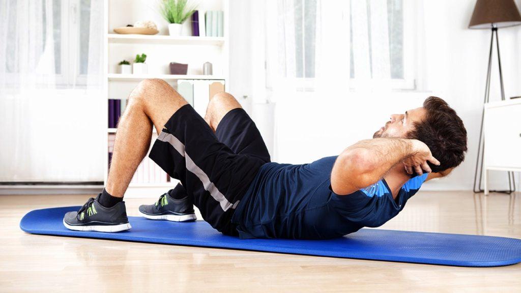 ejercicios vientre plano casa