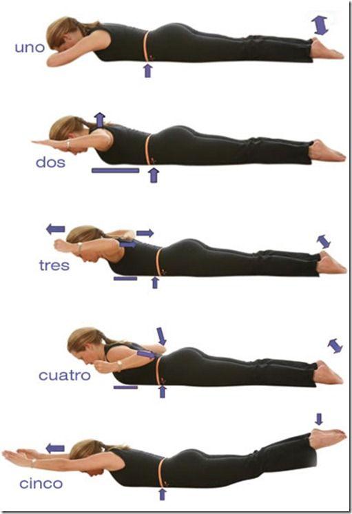 ejercicios de espalda avanzados
