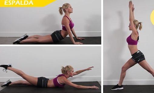 ejercicios de espalda basicos