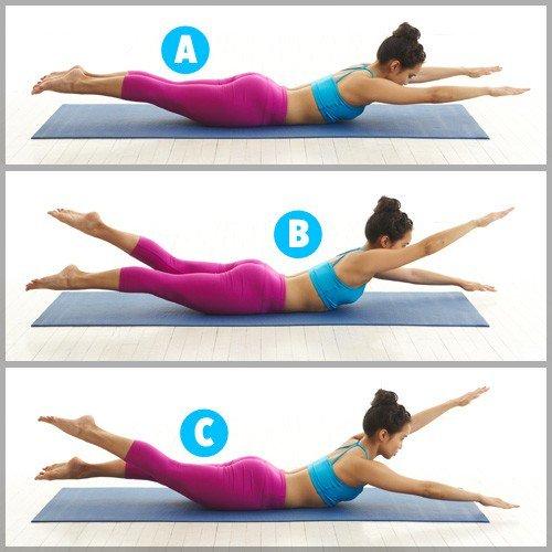 ejercicios pilates suelo