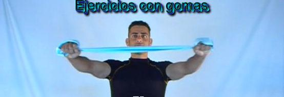 ejercicios con gomas