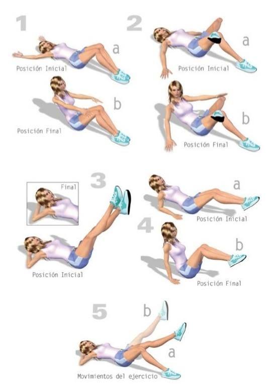 ejercicios de calentamiento y estiramiento en casa