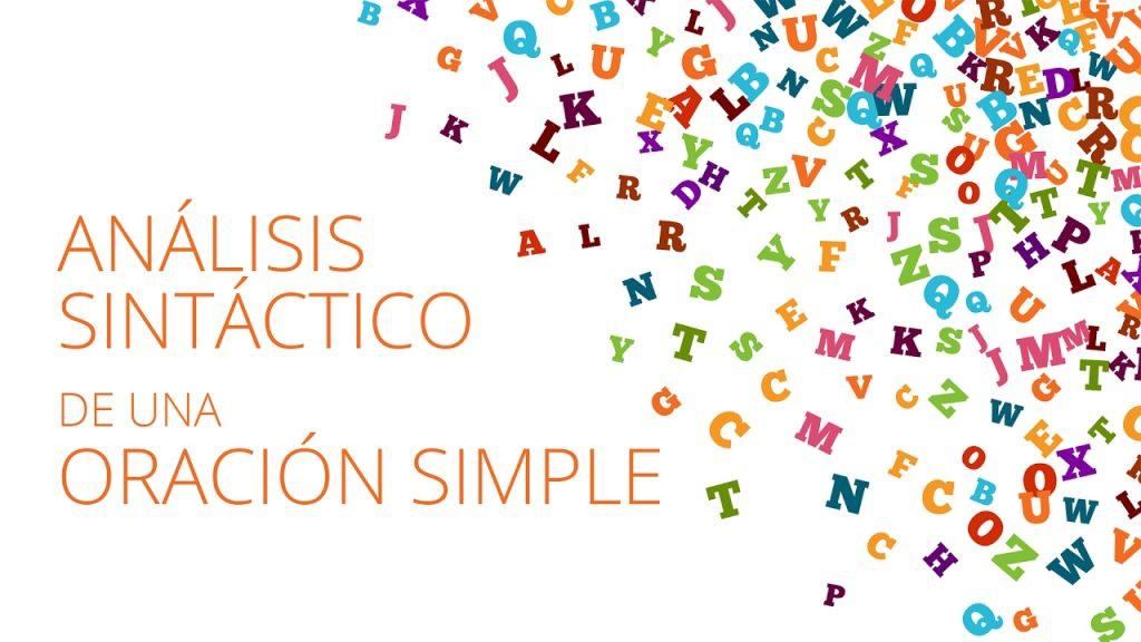 analisis sintacticos de oraciones ejercicios