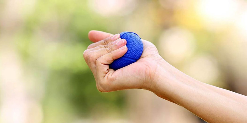 artrosis dedos manos ejercicios con pelota