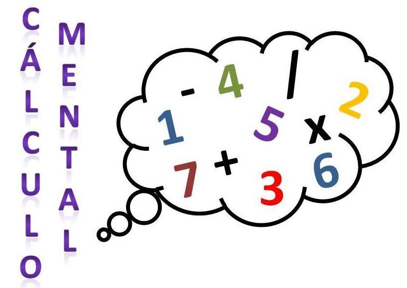 calculo mental ejercicios de matematicas