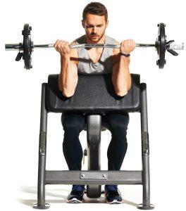 ejercicios de gym con barra
