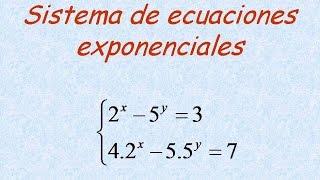 ejercicios de ecuaciones exponenciales