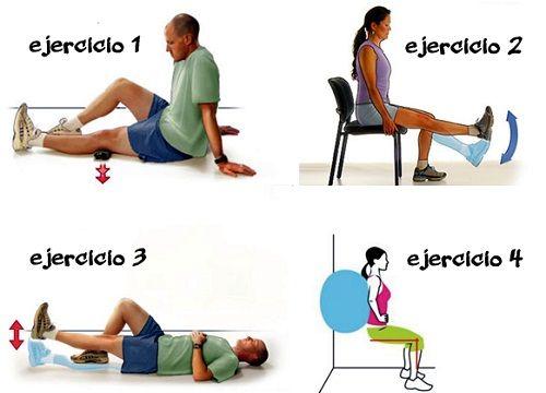 ejercicios beneficiosos para la condromalacia rotuliana