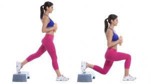 ejercicio con step en español