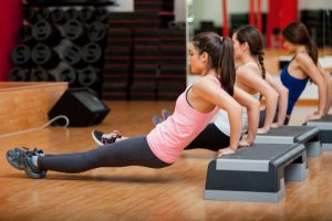 ejercicio con step en casa