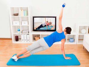 ejercicio de gimnasia ritmica