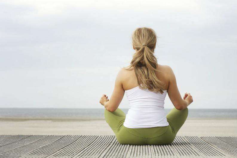 ejercicio de meditacion y relajacion