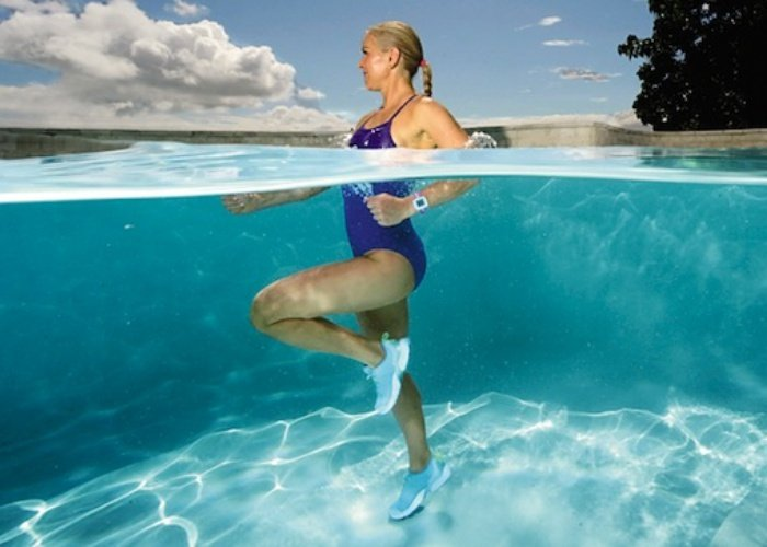 ejercicio en el agua para embarazadas