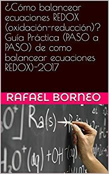ejercicio metodo redox