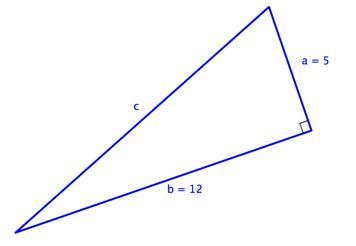 ejercicio de teorema de pitágora resolver