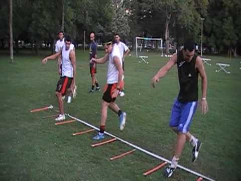 ejercicios de coordinación en el futbol