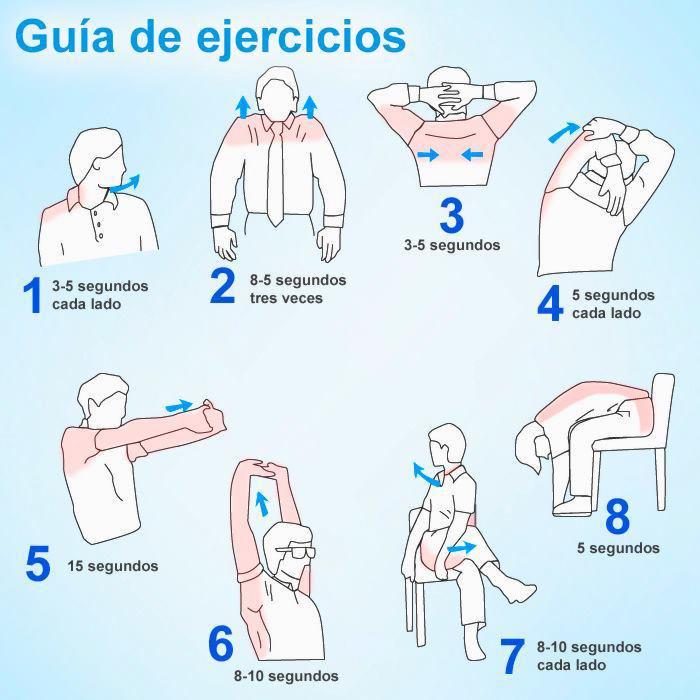 ejercicios para alinear cervicales