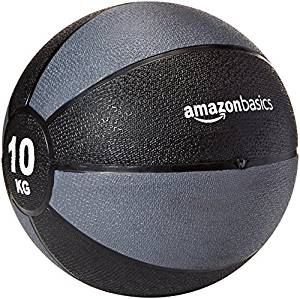ejercicios con balón medicinal Amazon 1