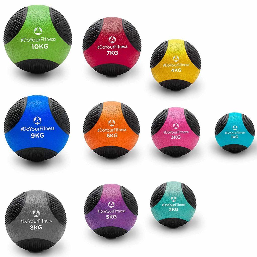 ejercicios con balón medicinal Amazon3
