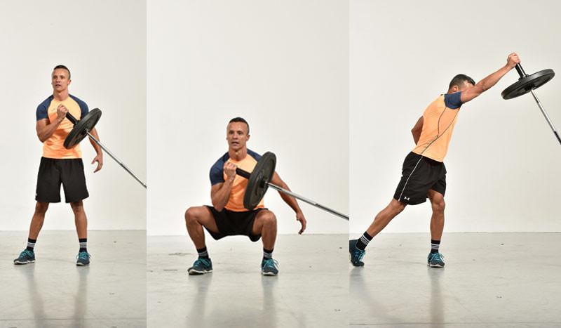 ejercicio con barra