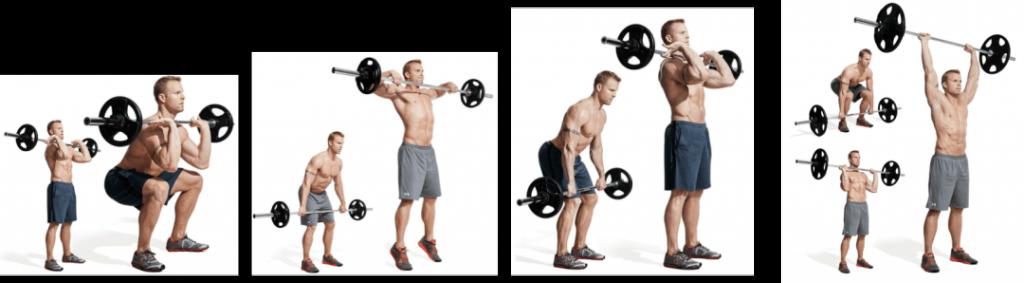 ejercicios con barras