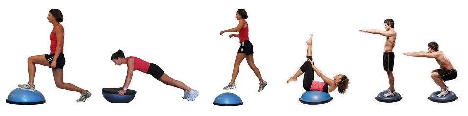 ejercicios con bosu beneficios