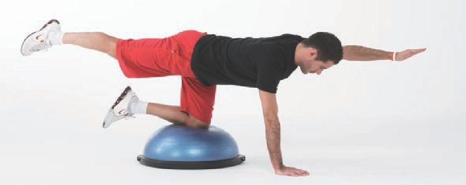 beneficios de ejercicios con bosu
