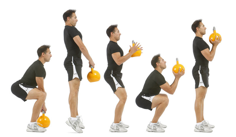 ejercicios de kettlebell