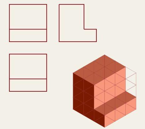 ejercicios perspectiva isometrica dibujo tecnico