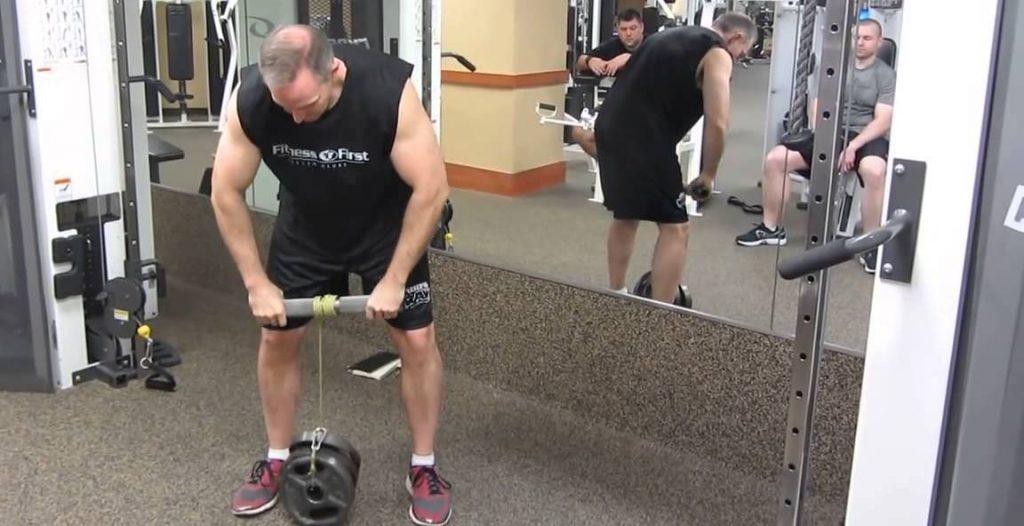 ejercicios de antebrazos con barra