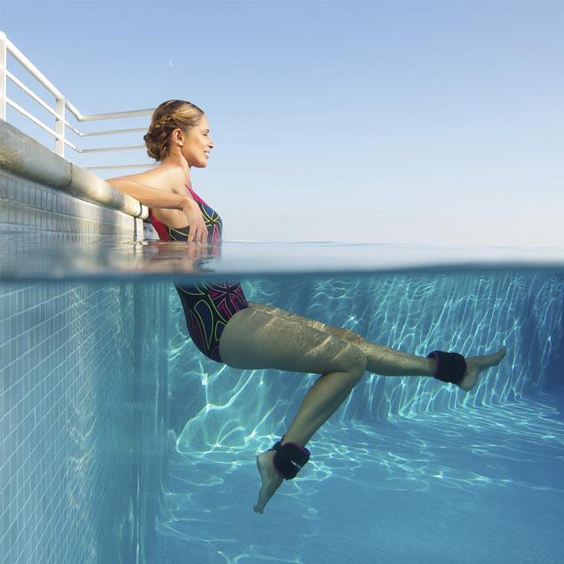 ejercicios de aquagym para piernas