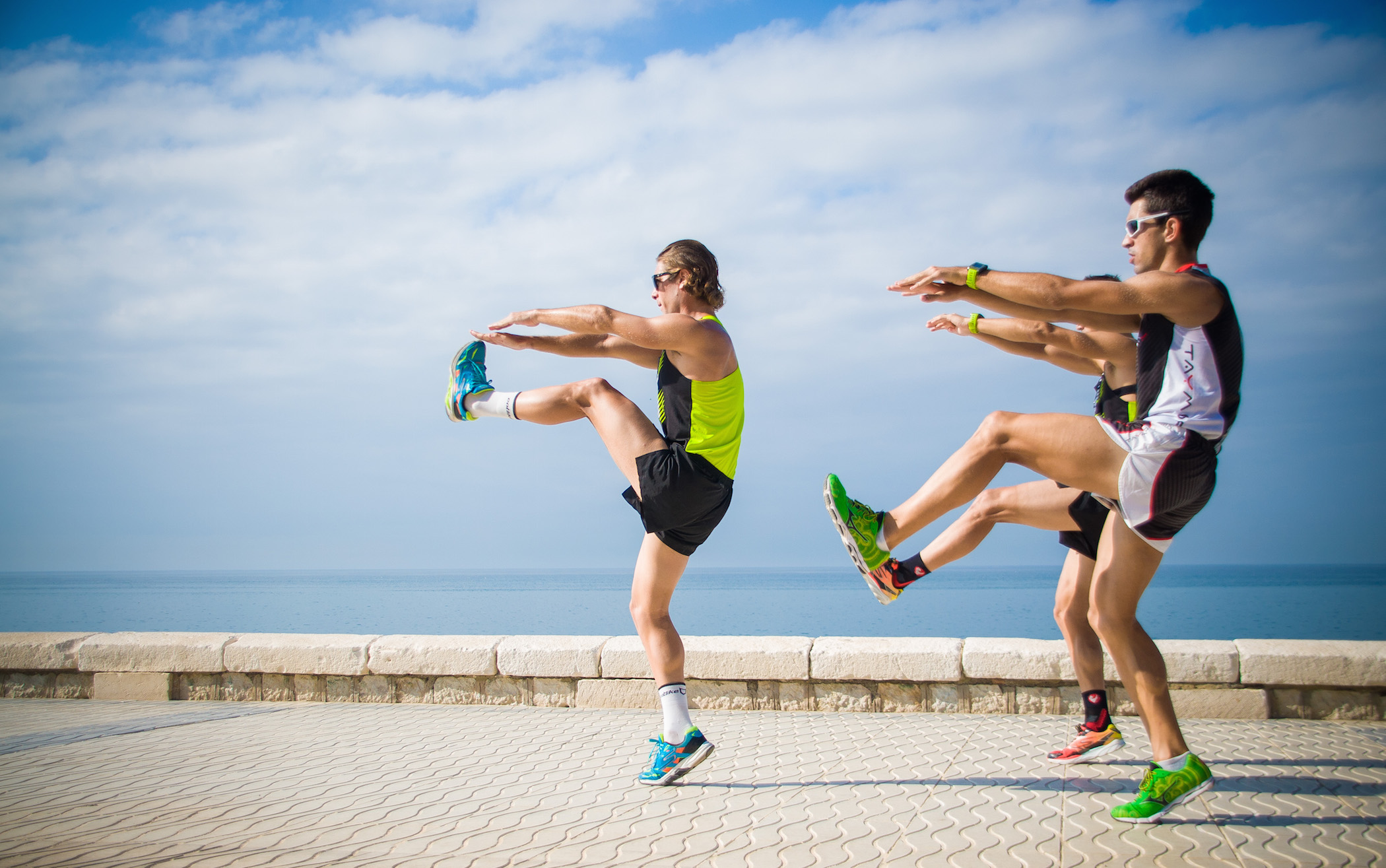 ejercicios de carrera calentamiento